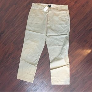 J Crew Men's Barrow khaki Pants W38/L32